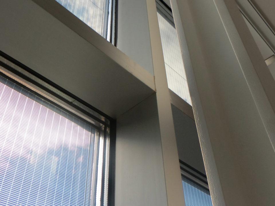Facciata a vetri fotovoltaici